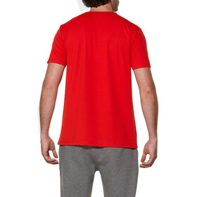 asics Sanded SS Top Men true red